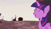 Twilight Sparkle optimistic S5E25