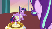 Twilight Sparkle wishes she could help Starlight S7E10