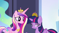 Twilight still unsure of herself S4E25