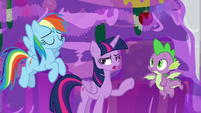 Twilight tells everyone to open their eyes S8E16