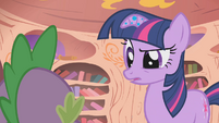 Twilight wants -something that points to something real- S1E09