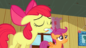 Apple Bloom mouth error S2E17