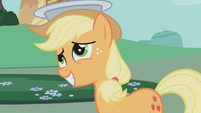 "Applejack ""what do you say there, best friend?"" S1E03"