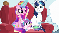 "Cadance ""Ponyville always seems to have"" MLPBGE"