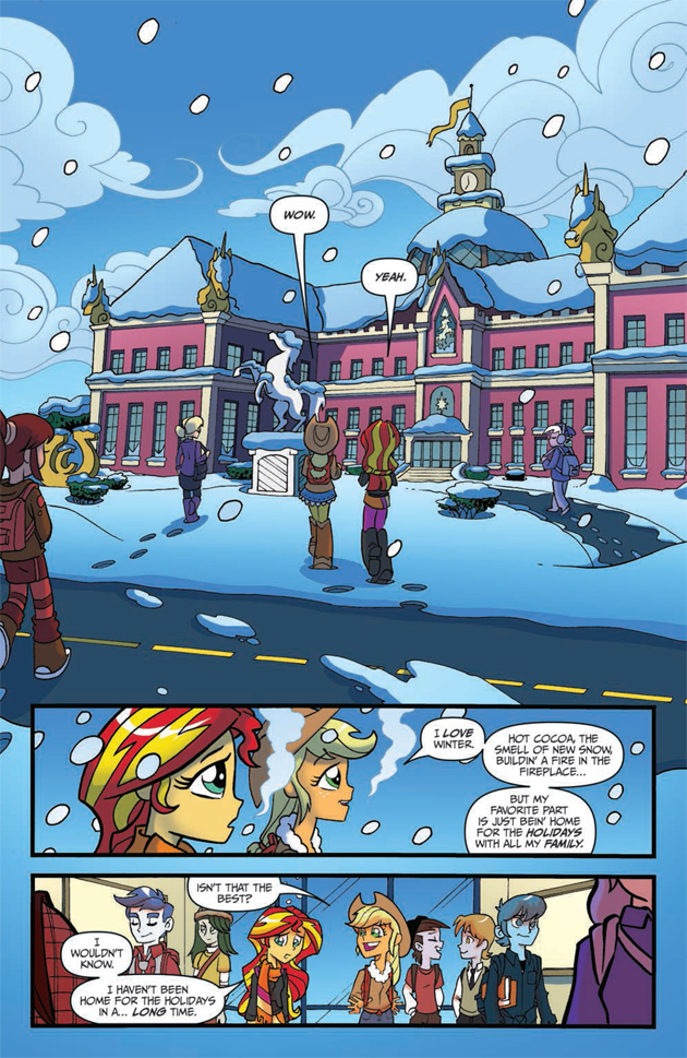 Equestria Girls Holiday Special Page 1 Jpg
