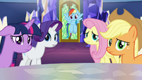 Main five feeling sorry for Pinkie Pie S9E14