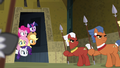 Main ponies peeking on the ritual S4E04.png