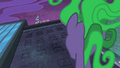Mane-iac looking up at Power Ponies S4E06.png