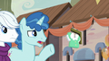 """Party Favor """"what are you doing here?"""" S6E26.png"""