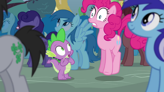 "File:Pinkie Pie ""may explode!"" S4E16.png"