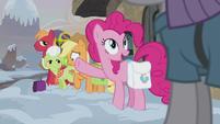 Pinkie Pie sees Maud arrive S5E20