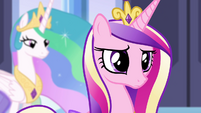 Princess Cadance with concerned expression S4E25