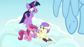 Princess Erroria calling Twilight Sparkle boring S7E14.png