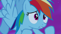 Rainbow Dash -powerful enough to escape- S5E13