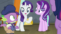 "Rarity ""nopony will ever miss it!"" S8E7"