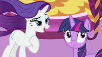 "Rarity ""thank you, Spikey-Wikey"" MLPS1"
