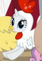 Rarity chicken costume ID S7E6