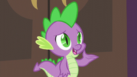 Spike -Princess Twilight doesn't think that seems fair- S5E10