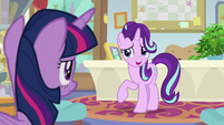 """Starlight """"if this is about leaving early"""" S9E20"""