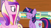 "Twilight Sparkle ""then it's settled"" S7E22"