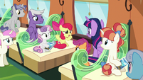 "Apple Bloom ""it makes for a better story"" S8E6"