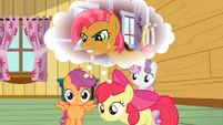 Apple Bloom and Scootaloo remembering S3E04