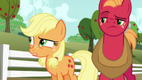 "Applejack ""workin' in the orchards for so many years"" S6E23"