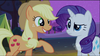 Applejack and Rarity0 S02E05