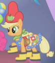 Applejack bad Gala outfit ID S1E14