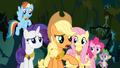 Applejack suggests Twilight should go back to Ponyville S4E02.png