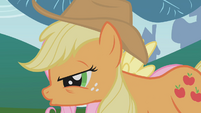 Applejack with Fluttershy S01E04