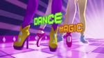 Carta de título de Baile Mágico (inglés)