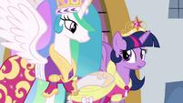"""Celestia """"say something, princess"""" S03E13"""