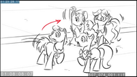 EW animatic - Ponies gasp at the Smooze