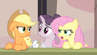 """Fluttershy """"almost as bad as Rainbow Dash"""" S5E1"""