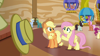Fluttershy --sure he isn't the cause of yours-- S6E20