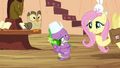 """Fluttershy and Spike """"does this mean you'll do it?"""" S03E11.png"""