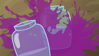 Grape juice splashing into jars S5E17