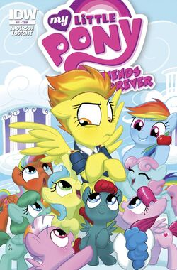 MLP FF issue 11 cover A