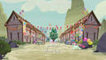 Our Town decorated for the Sunset Festival S6E25.png