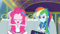 "Pinkie Pie ""gets sprinkle-blasted to bits"" EGDS12"