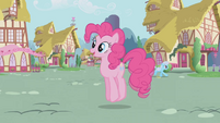Pinkie Pie -this makes my voice sound silly- S1E04