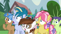 Pipsqueak and campers gasping in shock S7E21