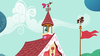 Ponyville Schoolhouse bell rings S5E19