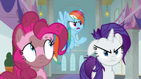 "Rainbow ""a fake summons from the map?"" S8E15"