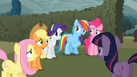 Rainbow Dash 'Like Twilight said' S2E01