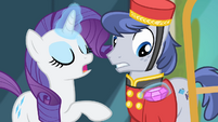 Rarity 'Do keep it all' S4E08