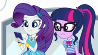 Rarity reading Timber Spruce's latest text CYOE3a