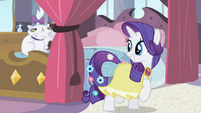 Rarity too much S2E9