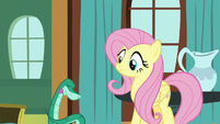 Rupert bowing to Fluttershy S7E5